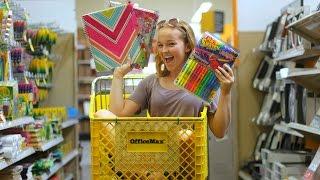 Back to School Supplies Haul 2016! | Emma Monden