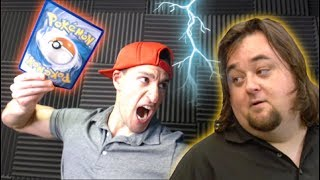 POKEMON BATTLE VS CHUMLEE OF PAWNSTARS!
