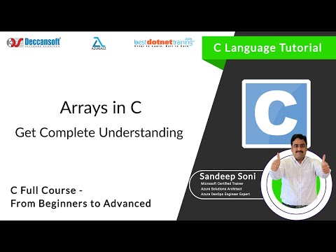 Sample Programs using an Arrays - bestdotnettraining.com