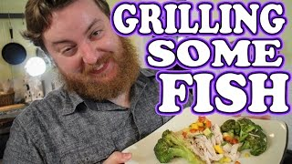 How To Grill A Fish And Serve It Fancy