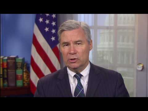 Sen. Sheldon Whitehouse delivers the Weekly Democratic Address