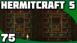 Hermitcraft 5 - Ep. 75: Starting the Grand Library