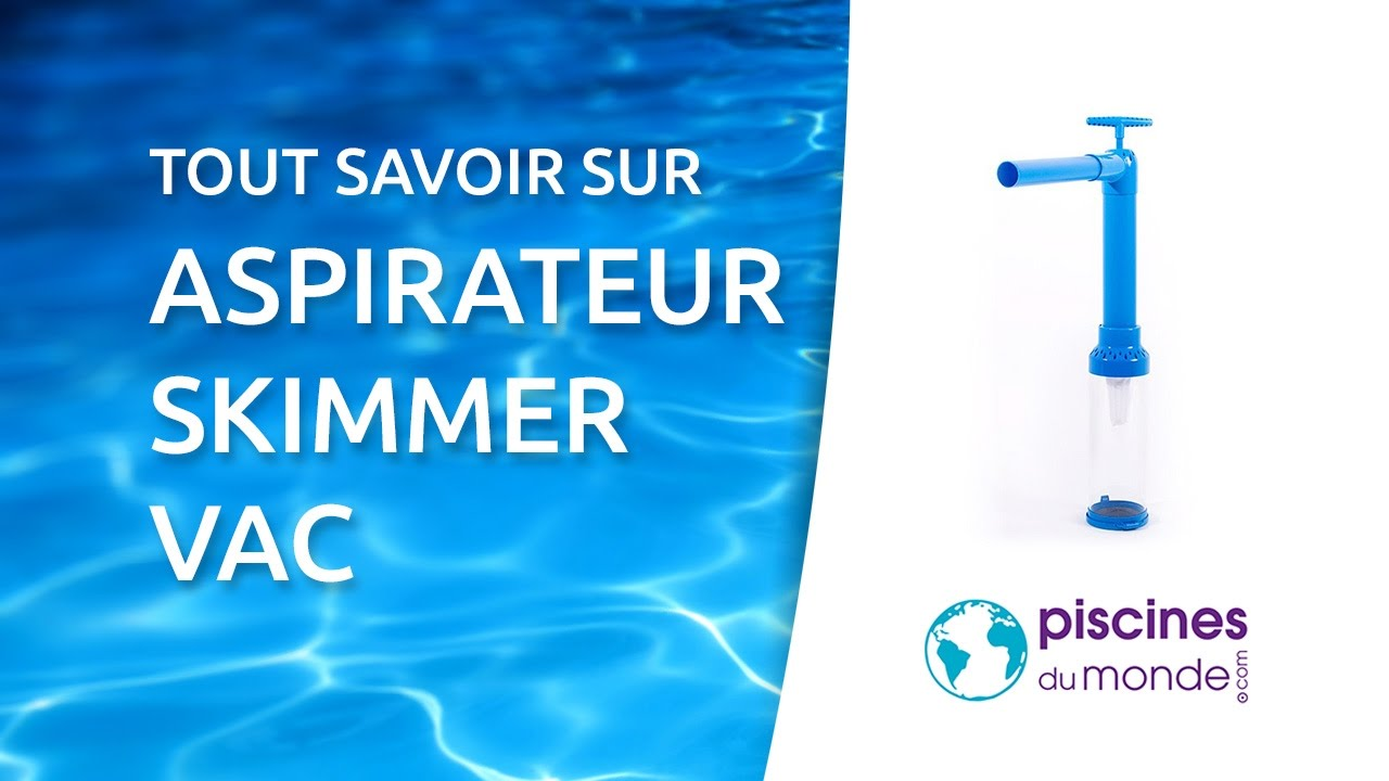 Aspirateur skimmer vac water tech youtube for Aspirateur piscine youtube