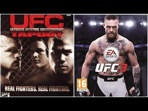 UFC Xbox Evolution (2002-2018)