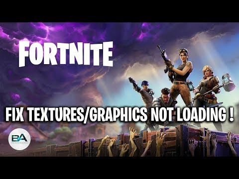 Fortnite PC Texture/Graphics Blur Glitch FIX [ SEASON 9 ] ( Graphics Not Loading )