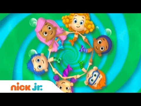 Bubble Guppies Latino América | Official Theme Song (Music) | Nick Jr.