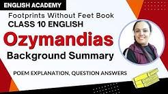 Ozymandias Summary and Background - CBSE Class 10 English Poem 4