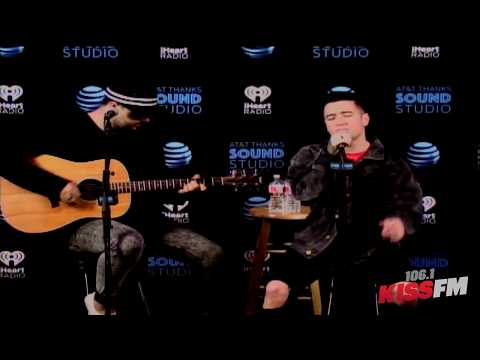 106.1 KISS FM Listener Lounge - Logan Henderson - AT&T THANKS Sound Studio 5.15.18