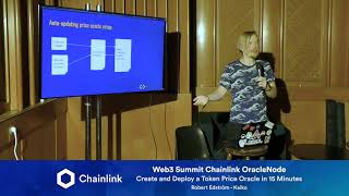 Chainlink Web3 Summit OracleNode: Create and Deploy a Token Price Oracle in 15 Minutes