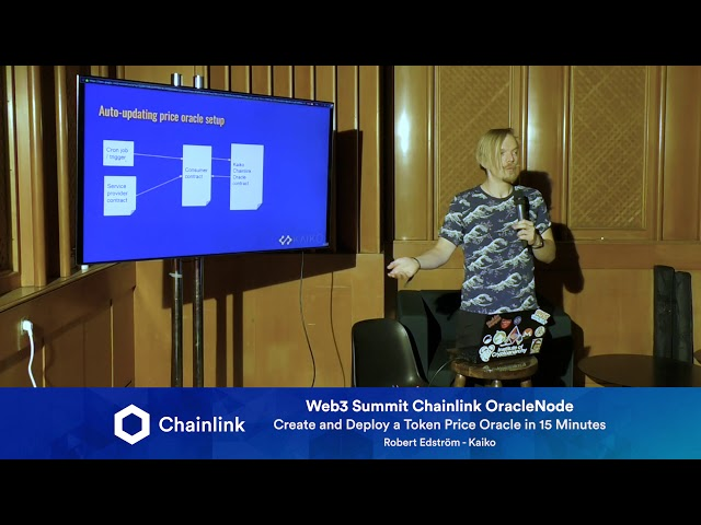 Chainlink Web3 Summit HackerNode: Create and Deploy a Token Price Oracle in 15 Minutes