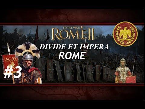 Total War: Rome II - Divide Et Impera - Rome Campaign #3 - Syracuse!