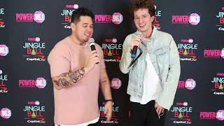 Charlie Puth Interview for Power 96.1's Jingle Ball