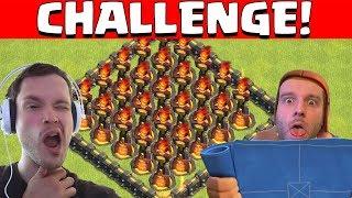 INFERNOTURM CHALLENGE! ☆ Clash of Clans ☆ CoC