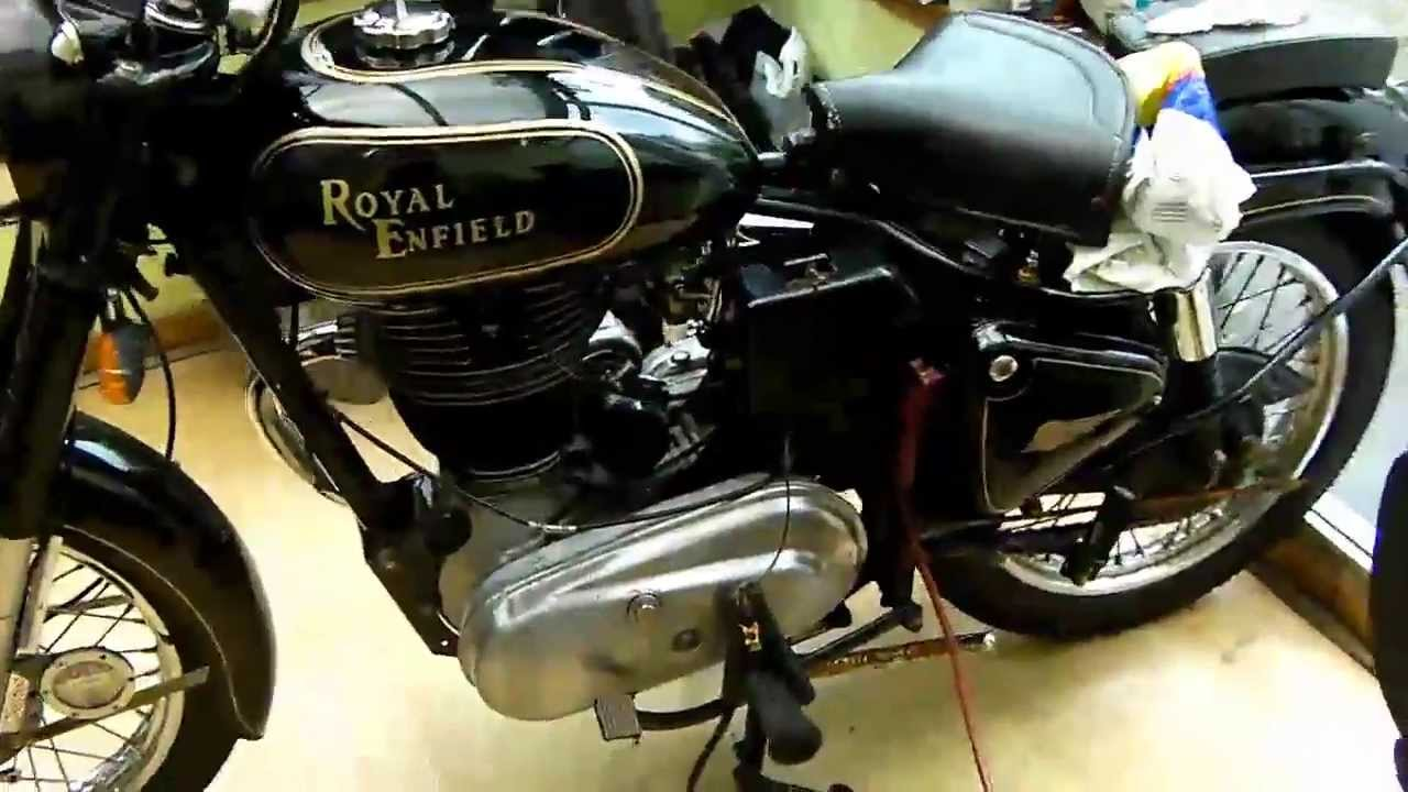 Royal enfield bullet pictures - Royal Enfield Bullet 350 Classic Easy Starting After Tune And Timing Youtube