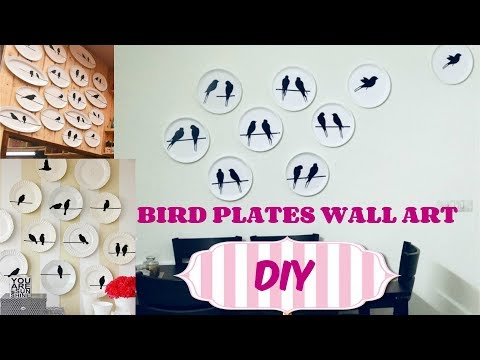 ❤-diy-bird-plates-wall-❤---pinterest-wall-art