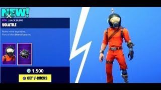 NEW FORTNITE SPLODE SKIN AND SHARPNEL HARVESTING TOOL! NEW FORTNITE SKINS!