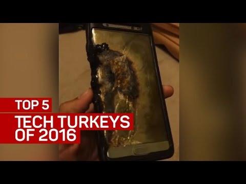 Download Top 5 tech turkeys of 2016