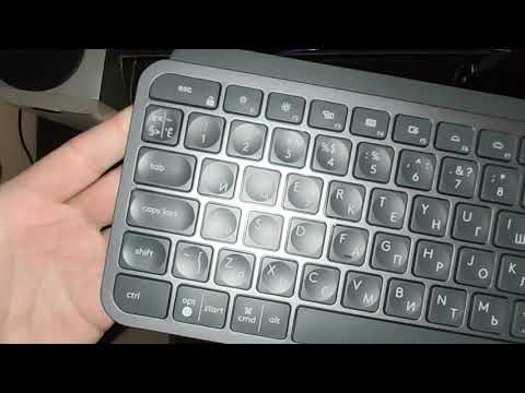 Клавіатура бездротова Logitech MX Keys Wireless Illuminated Graphite (920-009417)