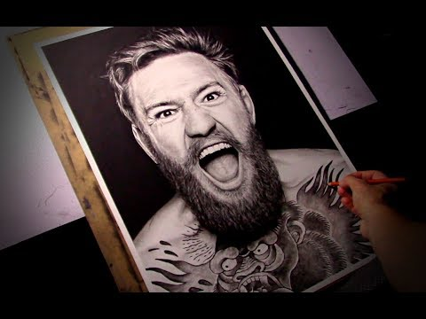 realistic-drawing---conor-mcgregor---time-lapse