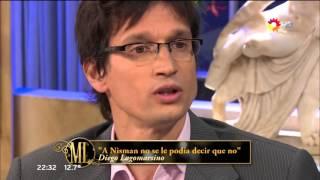 """Diego Lagomarsino en """"La noche de Mirtha"""", de M.Legrand - 26/09/15"""