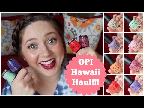 opi-hawaii-collection!-haul-&-swatches!