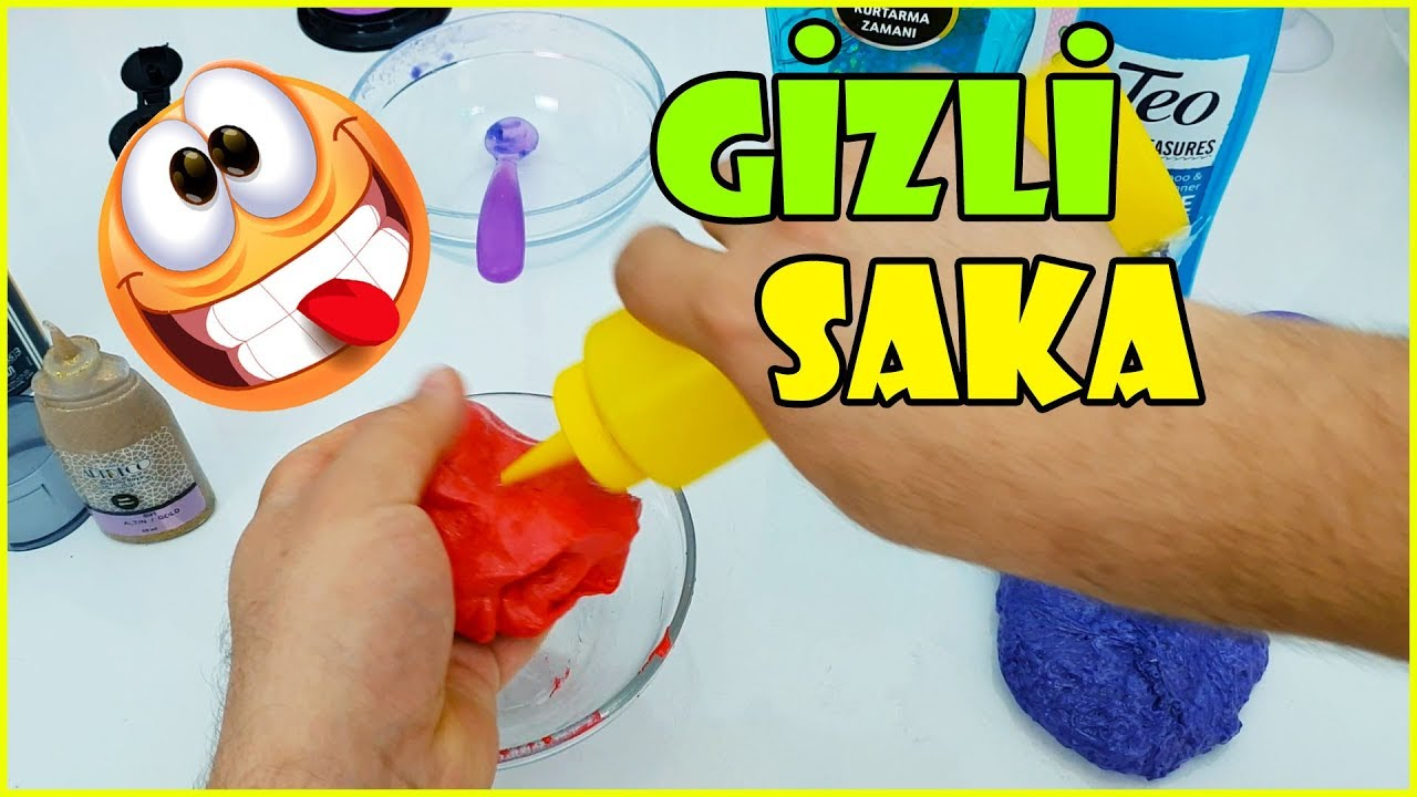 GİZLİ Şaka - Surakarta Oyunu ile Eğlenceli Slime Challenge - BIG PRANK!! Vak Vak TV