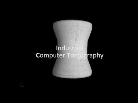 What gives us the industrial computed tomography
