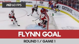 Brian Flynn Goal (1) - Round 1 / Game 1 - Ottawa Senators vs Montreal Canadiens 15-04-2015