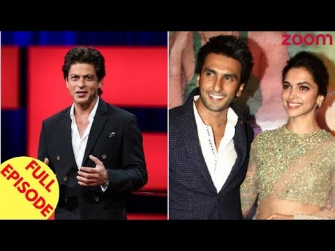 SRK Not Happy With The Response To TED Talks India | Ranveer - Deepika's Wedding Plans & More