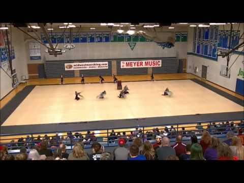 2017 Warrensburg High School JV Winter Guard