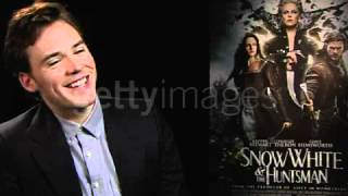 Sam Claflin on his character and kissing Snow White SWATH