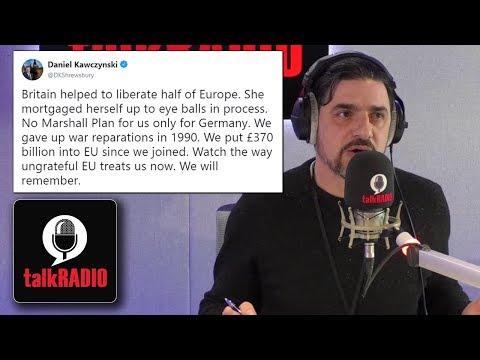Tory MP Daniel Kawczynski hangs up the phone on Alexis Conran