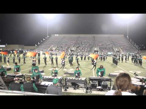 2015 LDHS Highsteppers Half-time Pom  & Lake Dallas High School Band Half-time performance