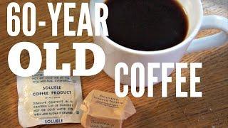 60-YEAR OLD COFFEE C-Ration coffee & sugar (1940-1958)