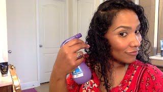 Styling My Natural REAL Hair lol NO WIG LOL