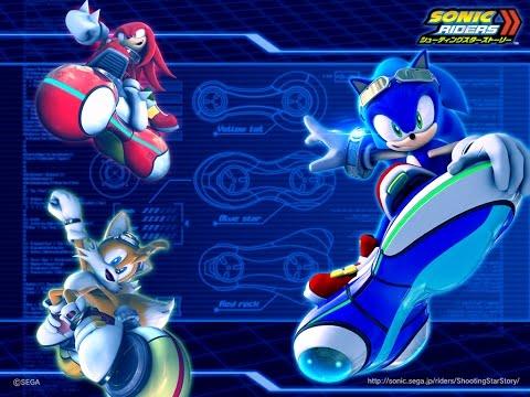 All X Tricks - Sonic Riders Zero Gravity