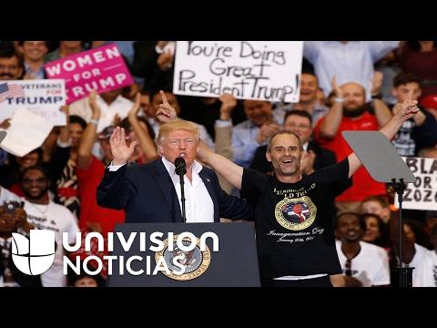 Conoce a Gene Huber, el simpatizante de Donald Trump que hizo su sueño realidad