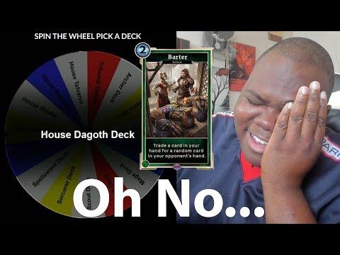 I Was Betrayed By Barter - Random Deck CHALLENGE The Elder Scrolls Legends