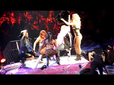 (HD) BRITNEY SPEARS Leather and Lace Vancouver July 2011