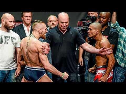 UFC MMA Most Intense Staredowns (FACE To FACE)