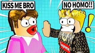 my roblox friend told me he was gay...