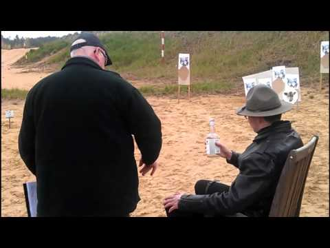 """Wild West 2011""  western action shooting competition"