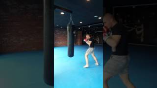 Heavy bag workout-only hard punches thrown with my RDX gloves