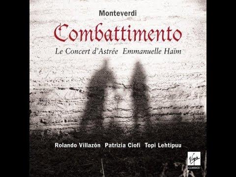 Le Concert d'Astree Emmanuelle Haim   Monteverdi Combattimento