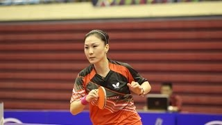 Korea Open 2014 Highlights: Park Youngsook Vs Shan Xiaona (Round 1)