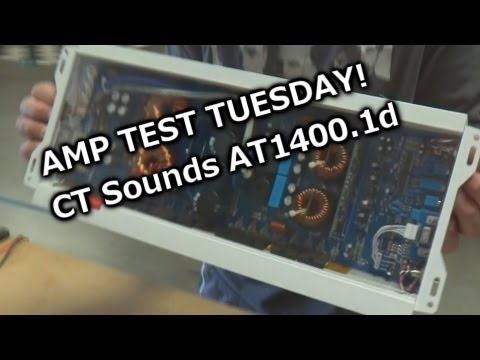 Amp Test Tuesday - CT Sounds AT1400.1d - Rated 1400 watts RMS - SMD AD-1 Amp Dyno (Results)