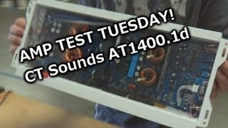 Amp Test Tuesday - CT Sounds AT1400.1d - Rated 140...