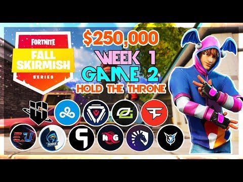 $250,000 🥊Hold the Throne Duo Fall Skirmish🥊 Week 1/Game 2 (Fortnite)
