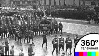 Как проходил первый Парад Победы 1945 года