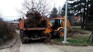 Čišćenje,bagerski utovar i odvoz zelenog otpada nakon krčenja i uredjenja placa(, 2018-01-26T17:01:13.000Z)